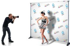 Banner Stand for Step and Repeat Backdrop by EventbyEunice on Etsy, $189.00