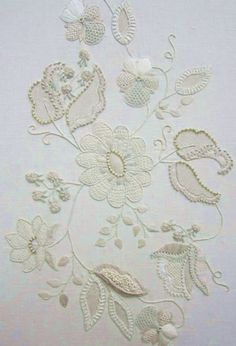 Textured Floral Extravaganza, needle lace and needle weaving class at Nancys with AnneMarie Moorhead