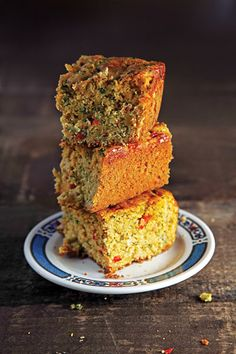 Piquant Corn Bread  Recipe - Saveur.com. Make sure you mix the batter well enough (till it's fully blended).