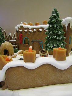 The Indian Pueblo Cultural Center is a museum and facility for history, talks, dances, and other activities featuring the culture of th. Gingerbread House Designs, Gingerbread Houses, Southwest Decor, Cultural Center, New Mexico, Cake, Desserts, Christmas, Recipes