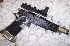 Max Michel's SIG Sauer 1911 Open gun