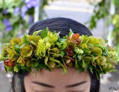 Hawaiian Liko Lehua Head Haku  Kui & I Florist, LLC Hilo, Hawaii kuiandiflorist.com #kuiandi #merriemonarch #hawaiianlei