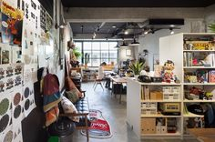 Filter017 is a design startup based in Taichung, Taiwan, thatdesigns own branded productssuch as pins, posters, toys, t-shirts and apparel. Recently, Filter017 also openeda new officein Taichung which theydesigned themselves. ... Read More