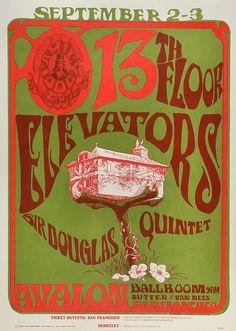 13th Floor Elevators Poster