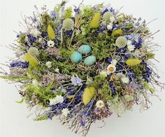 Dried Spring Nest Centerpiece - Great Easter Centerpiece