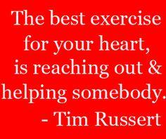 Tim Russert Quote