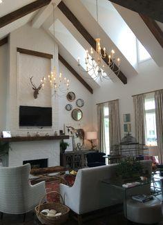 Living Room Of The 2016 St Jude Dream Home Lafayette La Builder Mclaine Homes