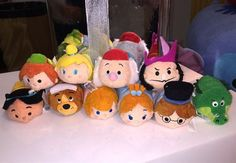 Upcoming Disney Store Tsum Tsum News! Peter Pan, Frozen Fever, Holiday 2015 and more!