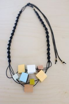 macrame' surplus necklace by stampel @Andrea