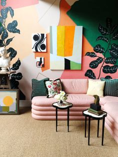 This Is Our Favorite Room in the 2019 Kips Bay Showhouse – diy Interior design Colorful Interior Design, Decor Interior Design, Colorful Interiors, Interior Decorating, Color Interior, Interior Designing, Interior Walls, Kips Bay Showhouse, Style Deco