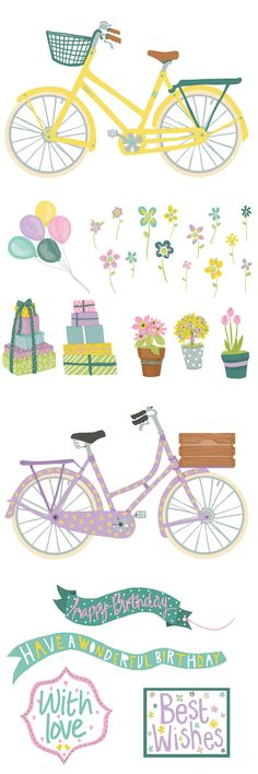 You'll wheely love these cute bicycle free printables from issue 151 of Papercraft Inspirations magazine. Download them now to get crafting!