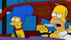 Lisa pregunta a Homero ¿A dónde vamos, papá?