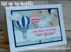 Julie Kettlewell - Stampin Up UK Independent Demonstrator - Order products 24/7: Simple Lift Me Up card