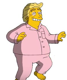 Donald Trump Simpsons Characters, Fictional Characters, Bart Simpson, Donald Trump, Donald Tramp, Fantasy Characters