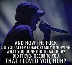 but damn I miss you and I hate the way we ended up I think of you often I'm sorry -MS Eminem Lyrics, Eminem Rap, Eminem Quotes, Rap Quotes, Lyric Quotes, Drake Lyrics, Song Lyrics, Bruce Lee, Bob Marley