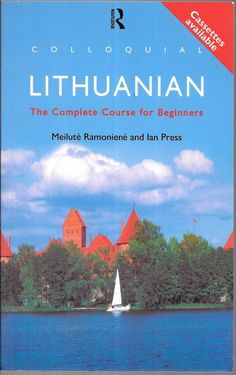 Colloquial Lithuanian The Complete Course 1996 1st Published Paperback