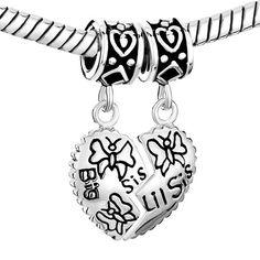 #pandorabracelet #sterlingsilver #charmbracelets #pandoracharm #pandorabead #beads #charms #bracelet #sister