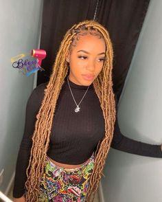 Braids Hairstyles Pictures, Faux Locs Hairstyles, Twist Braid Hairstyles, Braided Hairstyles For Black Women, African Braids Hairstyles, Baddie Hairstyles, Braids For Black Hair, Afro Braids, Long Braids