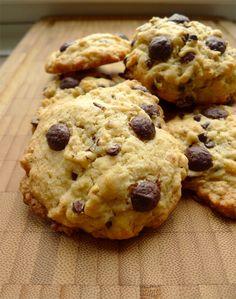 Chocolat, noisettes, avoine et farine complète : ces cookies rustiques ont tout pour plaire ! (recette en images)