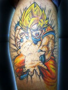 15 Dragon Ball Z Tattoos Even Frieza Would Admire   The Body is a Canvas