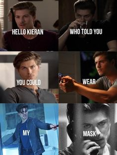 Audkai — Hello Kieran who told you, you could wear my mask?