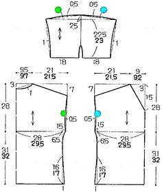 쉬운 상의 패턴 몇 개 : 네이버 블로그 Easy Sewing Patterns, Clothing Patterns, Dress Patterns, Pants Pattern, Top Pattern, Dress Tutorials, Pattern Books, Sewing Clothes, Pattern Making