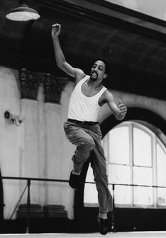 Happy Birthday to the late, great Gregory Hines! #Feb14  Photo by Anthony Crickmay, courtesy of Dance Magazine archives.