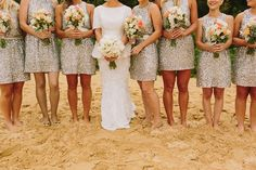 15 Pretty Perfect Sequin Bridesmaids Dresses