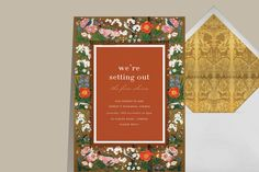 How to be a good wedding guest with Stefanie Cove - Paperless Post Blog Wedding Guest Etiquette, Paperless Post, Bridal Shower Invitations, Tool Design, Save The Date, Rsvp, Rustic Wedding, Frame, Blog