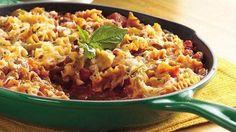 One-Pot Pasta Bolognese recipe from Betty Crocker