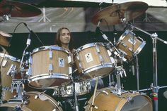 Steve Smith of Journ Snare Drum, Bass Drum, Diy Drums, Eric Carr, Old Rock, Steve Smith, Drum Heads, Dope Music