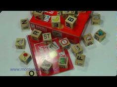 Mit den ABC Würfeln von Nikitin http://www.montessori-shop.de/material/nikitin-abc-wuerfel--n-43.php lernen Kinder die Buchstaben und erste Worte üben. Erste Schreibversuche werden unternommen und die Schreib- und Lesefähigkeit gefördert.