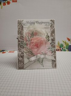 Fun Fold Cards, Folded Cards, Wedding Anniversary Cards, Wedding Cards, Peonies Bouquet, Peony, Magnolia Wedding, Poppy Cards, Peonies Garden