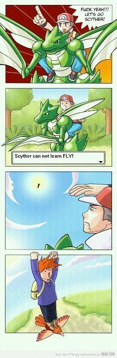 Pokemon, humor, comic, funny, stupid