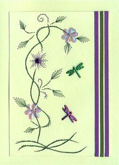 puprple flowers 'n' bugs