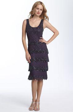3ddc7c756baf Patra Beaded Sheath Dress (Petite)