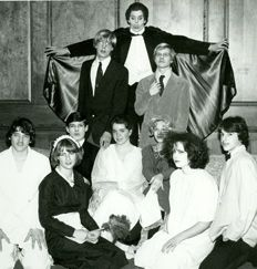 """The cast of """"Dracula Academy"""" in 1979."""