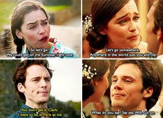 Me Before You Quotes Extraordinary Sam Claflin Emilia Clarke And Me Before You Image  Me Before You