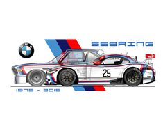Sebring 1975 - 2015 Bmw Z4, M Bmw, Bmw Vintage, Automobile, Bmw 2002, Bmw Classic, Car Illustration, Car Posters, Car Drawings