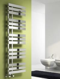Reina Sesia Vertical Designer Radiator - Chrome