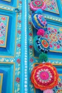 Pretty crochet hanging