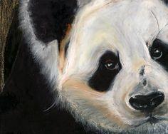 IMPRESIONES de Panda Poster por Colors4Conservation en Etsy