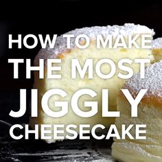 Jiggly Cheesecake for Beginners - Food Cook Recipes Delicious Desserts, Dessert Recipes, Yummy Food, Dinner Recipes, Food Cakes, Cupcake Cakes, Baking Cupcakes, Comidas Light, Japanese Cake