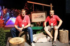 A #ThrowbackThursday featuring our two speakers, David Berry & Matt Schmidt, that we had at #ThatConference this year. Thanks for your leadership fellas!