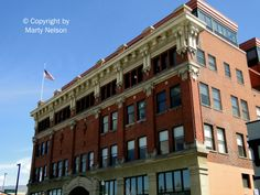 Renaissance Revival Style architecture is evident upon the Idaho Building constructed in Boise around 1900. © Copyright by Marty Nelson. Photographer web site: http://martynelsonphotoart.wix.com/mn-photo-art