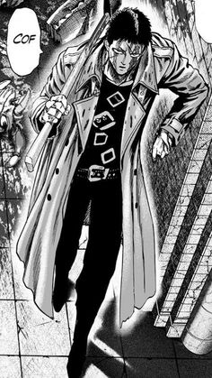 Zombieman (One Punch Man). Chapter - One Punch Man Zombie Man, One Punch Man Manga, Free Comics, Masked Man, Hot Anime Boy, Manga Artist, Manga Pages, Men Quotes, Comics Online