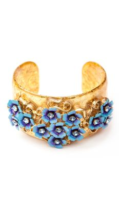Myrna Vintage Cuff by Evocateur