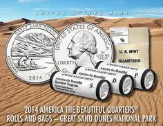 2014 Great Sand Dunes National Park Quarter