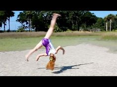 How to do an Aerial! another from seven gymnastics girls