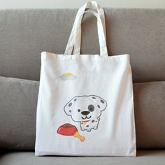 Reusable Tote Bags, Puppies, Trending Outfits, Unique Jewelry, Handmade Gifts, Funny, Etsy, Kid Craft Gifts, Cubs